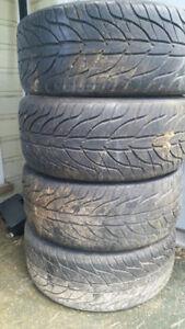 245/40R18 General Tires on 5 Series BMW Rims