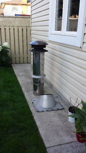 4 foot Stovepipe for Woodstove or BBQ $100 Must go!