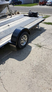 ULTILITY TRAILER -DROP AXLE- MAGS- MC-ATV/UTV- SMALL CARS
