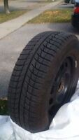BRAND NEW MICHELIN Xi3 WINTER TIRES WITH RIMS (SET OF 4)