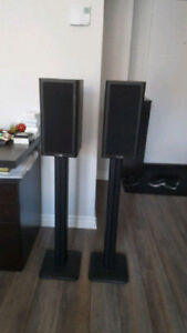 Mission 761i avec support Pied excellent quality speakers Rare