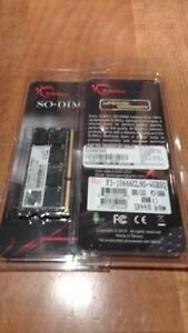 New: 2x 4GB DDR3-1333 So-Dimm RAM
