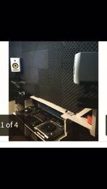 Very good condition. Pioneer CDJ850 Usb decks x2, Pioneer DJM700, KRK speakers rokit5 x2, technic..