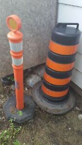 Reflective Road Cone and Marker Post for sale