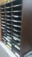 Office / Commercial wooden filing cabinet organizer