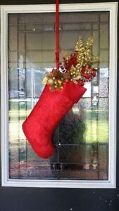 EIGHT CHRISTMAS STOCKINGS - NEVER USED