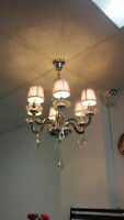 LED crystal chandelier and chandelier BULBS