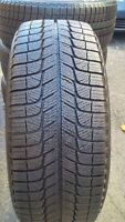 235/60/17 Michelin X-Ice Winter Tires on RIMS 5 X 127mm bolt