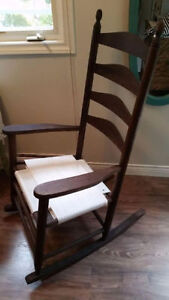 """4 Slate Back Rocking Chair """"HFX Hoarders and Collectors"""""""