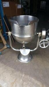STEAM POT MARMITE A VAPEUR 20 GALLONS STEAM KETTLE
