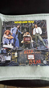 THE WHO ! WHO ARE YOU  180 GRAM VINYL ! BRAND NEW !