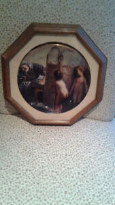 Paul Peel 'Before the Bath' Limited Edition Collector's Plate