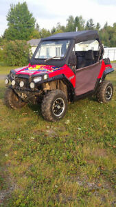 2012 Polaris RZR 800 side by side for sale.