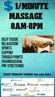 ★SATURDAY Morning MASSAGE★ONLY $1/Minute★TEXT ME★
