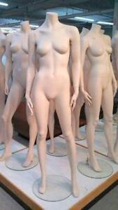 MANNEQUIN FEMININ COMPLET ~ DIVERSES POSE / FULL FEMALE MANNEQUIN ~  VARIOUS POSES