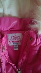 Pink Winter/Fall/Spring vest with hood. 18 months. Kitchener / Waterloo Kitchener Area image 2