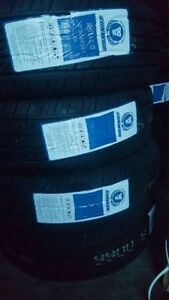 DEAL two sets of tires (all season) 215 60 r16 and 215 65 r16