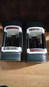 PowerBlock Sport 5.0 Adjustable Dumbbells (5-50lbs)
