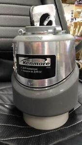 Kenmore 3/4 hp Food Waste Disposer Model #50133