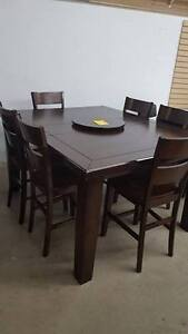 Pub Height Dining Table With 6 Chairs - DELIVERY AVAILABLE!