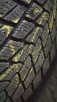 Toyo g-02 plus 235/70 r16 with steel rims mags + winter tires