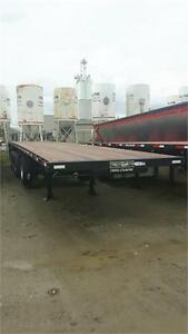 2019 NEW STEEL AND COMBO 3,4,5,6 AXLE FLATBEDS IN STOCK NOW