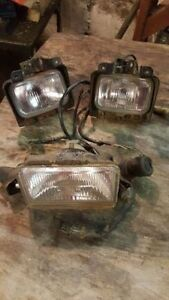 Headlights and harness fits 98-01 450 foreman