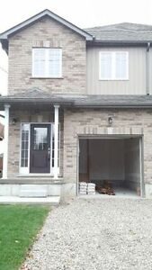 BRAND NEW, Semi detached house available for rent ASAP Kitchener / Waterloo Kitchener Area image 1