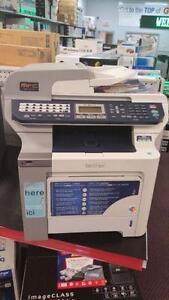 Brother color laser printer MFC-9840CDW wifi duplex fax scanner