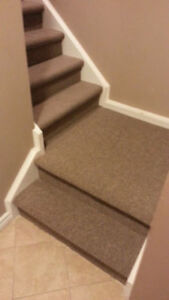 SPECIAL**Carpet Your Basement Stairs in Berber for $285**SPECIAL