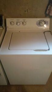 GE Top Load Washer & Dryer Matching Set Moving Sale