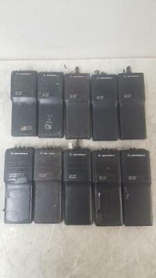 Lot Of 10 Motorola Mts2000 H01ucd6pw1bn Walkie Talkie Handie Radio No Keypad