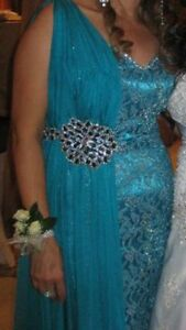 Beautiful Teal Evening Gown Windsor Region Ontario image 10