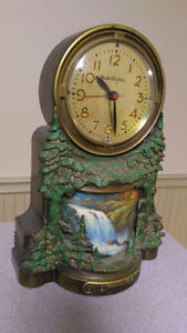 1954 MasterCrafters Waterfall Motion Clock