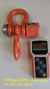 new 1000kg/2200lbs digital wireless industrial crane scale