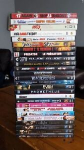 Movie bundle for sale/Films en vente