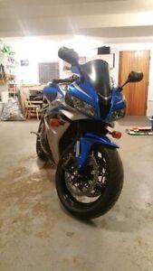 2007 CBR 600RR - Blue & Silver