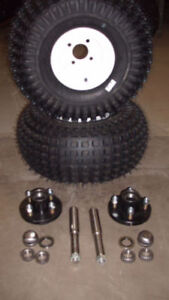 ATV Tub Trailer Tire Kits with Hubs & Spindles