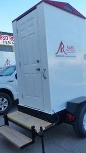 Portable Washroom on a 10' Trailer for Rent! Peterborough Peterborough Area image 3