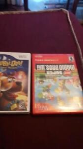 Wii Mario Brother & Scoopi-doo Video games - Both