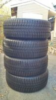 275 40 20 MICHELIN ALPINE Winter Tires – LIKE NEW! MUST SEE!