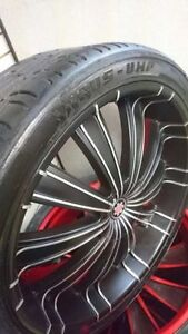 26 INCH RIMS AND TIRES ONLY $2000