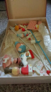 Beauitiful Vintage 60's Baby Crib Mobile Cambridge Kitchener Area image 2