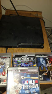 PS3 (111gb) 4 games 2 controllers $140 firm