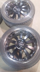 "20"" inch rims ... vip status, 245/40ZR20, low profile"