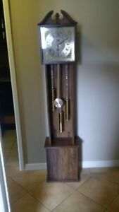 Grandfather clock (not real wood) $20