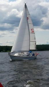 """Irwin 28"""" Sailboat"""