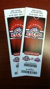 Premium Ice Caps Tickets - Centre Ice Seats - Less Than Cost