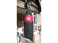 Punch Bag - Heavy Bag & Gloves