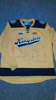 Kingston Fronteacs Jersey signed by 20 Players